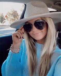 Sunglasses Price, Girl With Sunglasses, Sunglasses Women, Fall Hats, Sunglass Hut, Blue Sweaters, Oakley, Dress Up, Lady