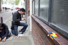 Platform 21 - LEGO fix for distressed walls