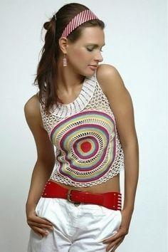 Pretta Crochet: Blusas de crochet