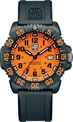 Swiss-made with Luminox Night Vision technology that maintains a constant glow for up to 25 years in any light condition, the LUMINOX Navy SEAL Colormark 3059 is as reliable as it is rugged. Sport Watches, Cool Watches, Watches For Men, Wrist Watches, Casual Watches, Men's Watches, Search And Rescue, Navy Seals, Luxury Watches