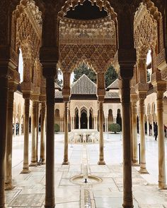 """Flavia Balan Travel Story """"The Patio de los Leones- awesome place to visit. Patio, Taj Mahal, In This Moment, Adventure, World, Instagram, Building, Places, Travel"""