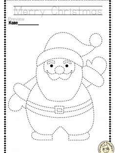 """Help your child develop their pre-writing and fine motor skills with «Christmas Trace and Color Pages"""" This .pdf file includes 14 Christmas themed Tracing and Coloring Worksheets. This is a perfect activity for your young artists. Christmas Worksheets Kindergarten, Coloring Worksheets For Kindergarten, Preschool Christmas, Christmas Activities, Preschool Activities, Christmas Crafts For Kids To Make, Xmas Crafts, Pre Writing, Kids Writing"""