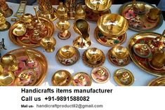 Manufacturer and exporters suppliers of handicraft item brass copper aluminum metal metal silver  animal pencil pot flower vases planters  sculptures decorative water bottles lanterns garden wall hangings Diwali corporate modern statue bells pot tray photo frame box storage box ash tray bangle gifting packing handicrafts hand made design image picture box lace mirror frame elephant horses camels owls.