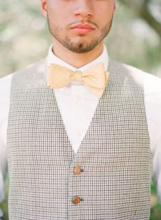 Art Deco Inspired Shoot. Love the bow tie and waistcoat styling