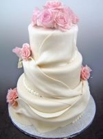 Wanting a similiar cake only square with star gazer lillies