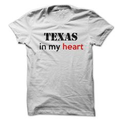 Texas in my heart T-Shirts, Hoodies, Sweaters