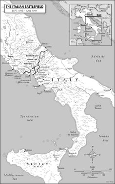 THE ITALIAN BATTLEFIELD – SEPTEMBER 1943-JUNE 1944