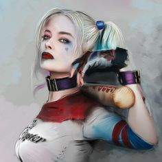 【Harley Quinn】 《#HarleyQuinn #suicidesquad #joker #batman #superman #dcuniverse #anime #animeboy #animegirl #manga #drawing #draw #sketch #doodle #doodles #art #artist #artwork #illustration #illust #paint #painting #ulzzang #selca #셀카 #얼짱 #그림 #アニメ #マンガ #イラスト》
