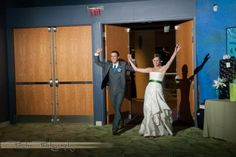Orlando Science Center wedding in Orlando, Florida, of Tiffany and Kyle