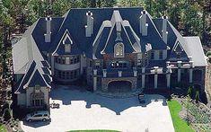 Planen Sie Majestic Storybook Castle Home Plan - dream home - House Plans One Story, Dream House Plans, House Floor Plans, My Dream Home, Castle House Plans, Modern Castle House, Castle Homes, The Plan, How To Plan