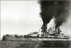 12 in German battleship SMS Kaiser in 1915: lead ship of her class, she fought at Jutland the following year, suffering one hit and negligible damage.  Scuttled with the bulk of the High a Seas Fleet at Scapa Flow in June 1919, her wreck was raised and broken up over 1929 - 30.