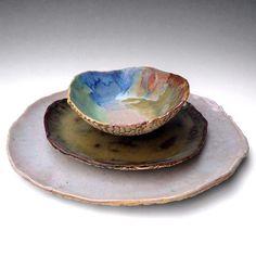 River Journey dinnerware #pottery #ceramic #handmade