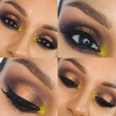"""Tutorial on Anastasia Beverly Hills """"Artist palette"""" makeup look by mariela quinta. Check out more Makeup on Bellashoot. Makeup Inspo, Makeup Inspiration, Skin Makeup, Beauty Makeup, Makeup Artistry, Makeup Items, Eye Shadows, Eyeshadow Looks, All Things Beauty"""
