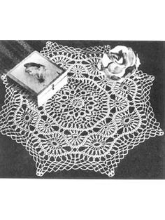Crochet Doilies - Vintage Doily Crochet Patterns - Filigree Doily