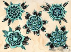 Amy Williams tattoo design flash