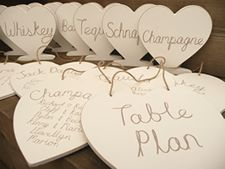 Hand-painted shabby chic wooden heart wedding seating plan and table names Seating Plan Wedding, Wedding Table, Seating Plans, Wedding 2015, Dream Wedding, Chic Wedding, Table Names, Wooden Hearts, Table Plans