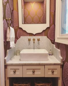 Coastal Powder Bath | Covet Living Interiors