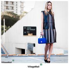 O look da cliente Fernanda Di Biase é uma inusitada combinação de silhuetas clássicas e despojadas. Com vestido, colete, bolsa e sandália da Tory Burch, a produção conta com a assinatura da nossa consultora de moda, Cris Pinheiro Guimarães, e clique de Miguel Sá.