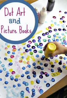Go dotty with a freestyle dot art project and see dots in a brand new light with these fun and colorful dot picture books for kids.