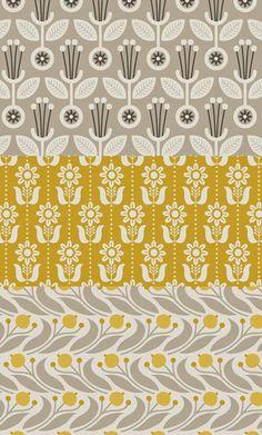print  pattern Elizabeth Olwen