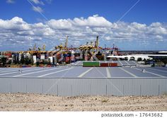Container terminal long view