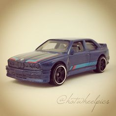 #172 - '92 BMW M3 - 2013 Hot Wheels - HW Showroom - All Stars
