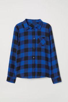 Cotton Flannel Shirt Model Små Flickor 4d3a18d0eb40b