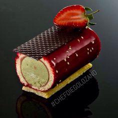 Strawberry patisserie | chef diego lozano | pastryschool