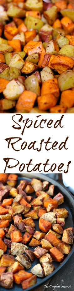 Spiced Roasted Potat