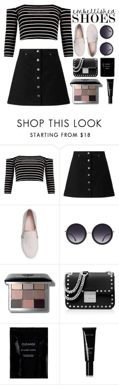 """""""Embellished shoes"""" by shinepage ❤ liked on Polyvore featuring Boohoo, Miss Selfridge, Carvela, Alice + Olivia, Bobbi Brown Cosmetics, MICHAEL Michael Kors, Cleanse by Lauren Napier and Allies of Skin"""