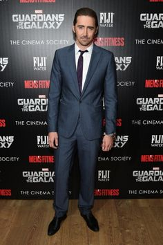 Actor Lee Pace attends The Cinema Society with Men's Fitness and FIJI... News Photo 452904736