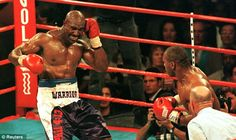 From the Vault: Mike Tyson bites Evander Holyfield in both ears Mike Tyson, Ralph Steadman, American Pay, Bad Relationship, Referee, Net Worth, The Guardian, Champs, All About Time