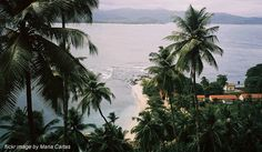 Sao Tome & Principe  - off the coast of Africa.  Pristine white beaches and not touristy (Fly Away Friday: 4 Forgotten Or Unknown Holiday Destinations - Career Girl)