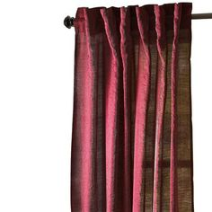 Garnet Luster Window Panel.  Wow, what a beautiful setting these curtains create in my mind!  Love them!