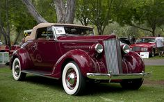 1937 Packard 115-C Convertible Coupe 1089 Body, 115 inch WB, six cylinder, 100 HP
