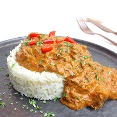 Goulash Slow Cooker, Crock Pot Slow Cooker, Slow Cooker Recipes, Beef Recipes, Cooking Recipes, Healthy Recipes, Healthy Foods, Slow Food, Slow Cooking