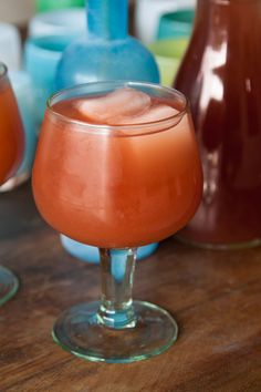 Spicy Pomegranate Guava Margaritas | What's Gaby Cooking