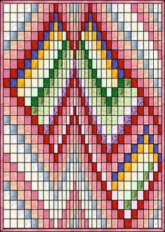 Best ideas for amish quilting patterns design Motifs Bargello, Broderie Bargello, Bargello Quilt Patterns, Hand Quilting Patterns, Bargello Needlepoint, Bargello Quilts, Quilting Thread, Quilting Templates, Quilting Projects