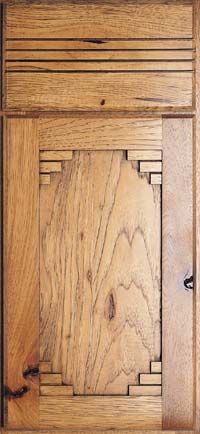 Santa Fe Door Style~ Color/Finish Toffee -A little style to your cabinetry in your Southwest Kitchen
