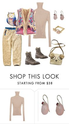"""Untitled #488"" by lealeo ❤ liked on Polyvore featuring Kapital, Shaina Mote and NOVICA"