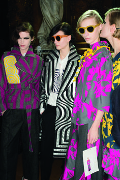 Dries Van Noten AW14 was filled with print and hints of shimmer – Fashion