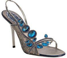 Rene Caovilla shoes-o Fancy Shoes, Pretty Shoes, Crazy Shoes, Beautiful Shoes, Cute Shoes, Me Too Shoes, Rene Caovilla, Stilettos, High Heels