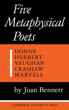 AmazonSmile: Five Metaphysical Poets (9780521092388): Joan Bennett: Books