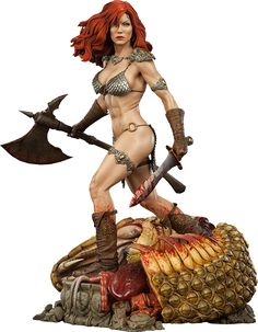 Red Sonja She-Devil with a Sword Premium Format™ Figure