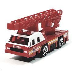 Daron FDNY Fire Dept Rescue Fire Engine 1/64 S Scale New York City Diecast Fi...