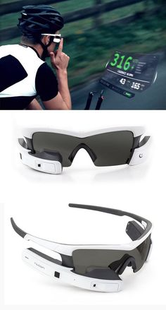 ceb6bfd468d Escalate your everyday runs and bike rides with the Jet Smart Glasses for  Sports.