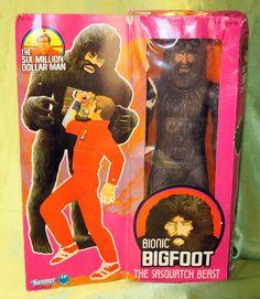 Kenner Six Million Dollar man Bigfoot MIB