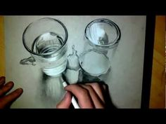 ▶ Crazy realistic Drawing 3D - Water/glass 2 - YouTube