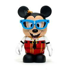 "Mickey Mouse Vinylmation ""Nerds rock !"". Artist : Doug Strayer."