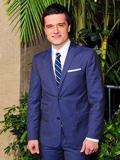 Peeta can wear a suit! excuse me, Josh Hutcherson